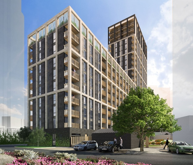 Gateway Square Apartments: Croydon Ruskin Square Apartment Block Approved