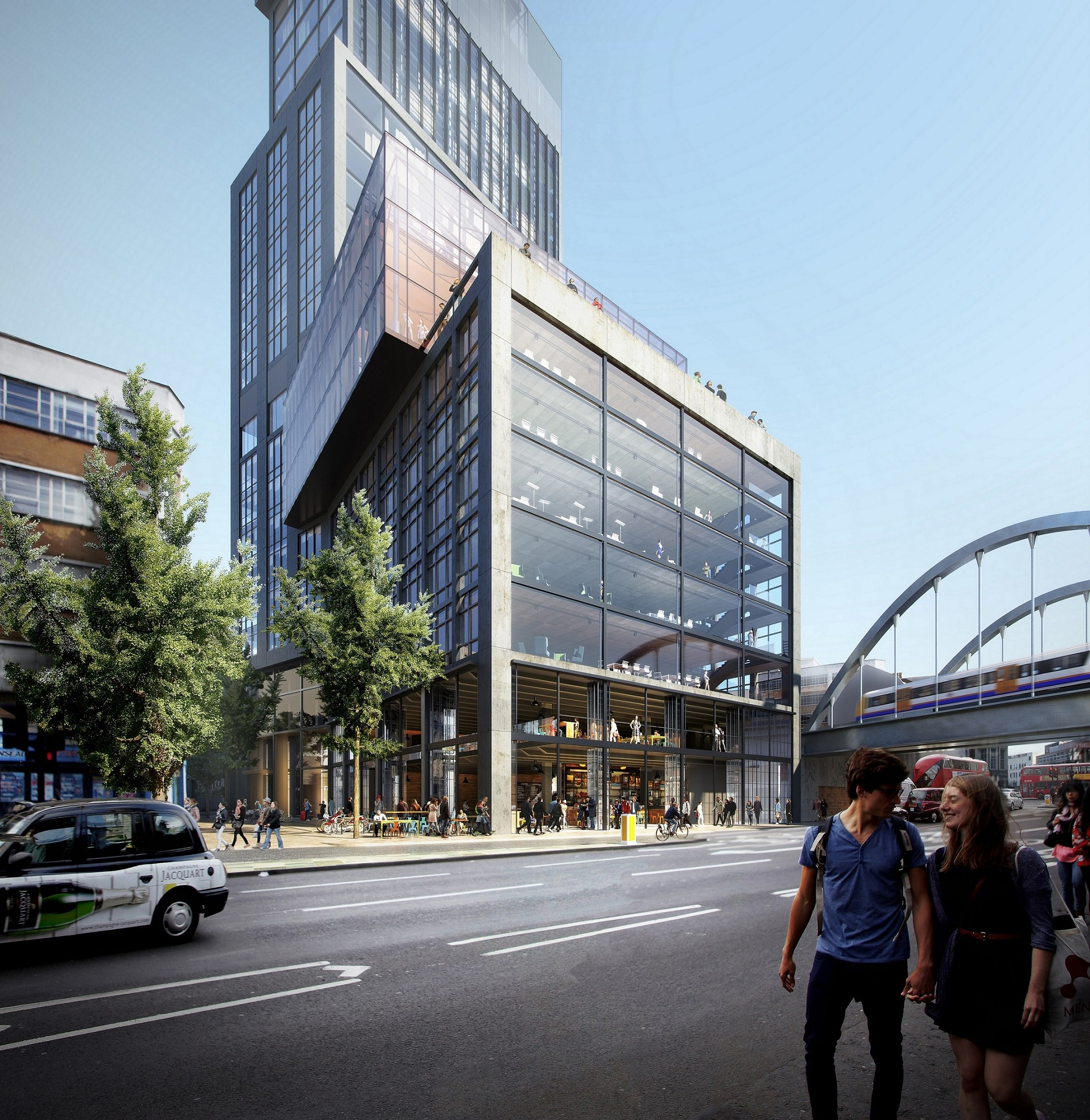 300m London Sditch Hotel Gets Nod Construction Enquirer