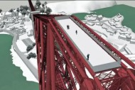 Forth Bridge proposed-viewing-platform-on-top-of-forth-rail-bridge