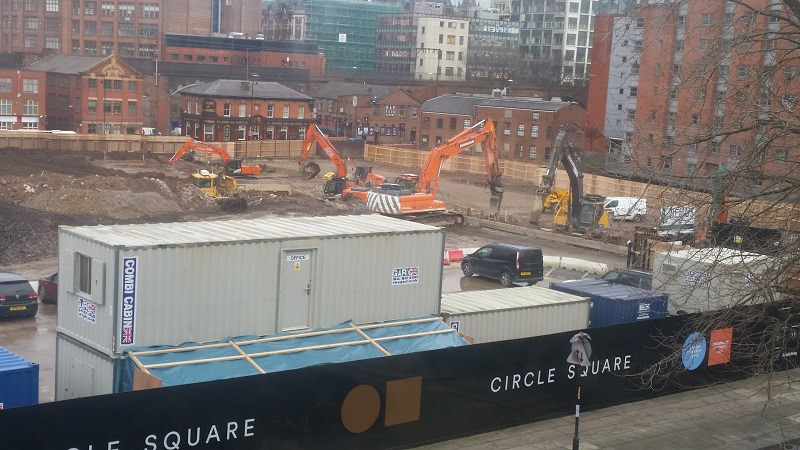 Circle Square phase 1a site