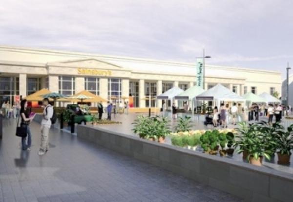 stalled 80m penrith sainsbury s job restarts construction enquirer