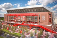 Main Stand Liverpool FC