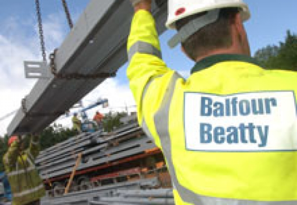 Balfour Beatty construction site
