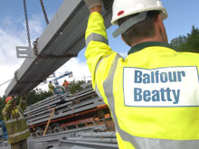 Balfour Beatty steel site