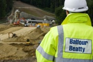 Balfour Beatty. Man working