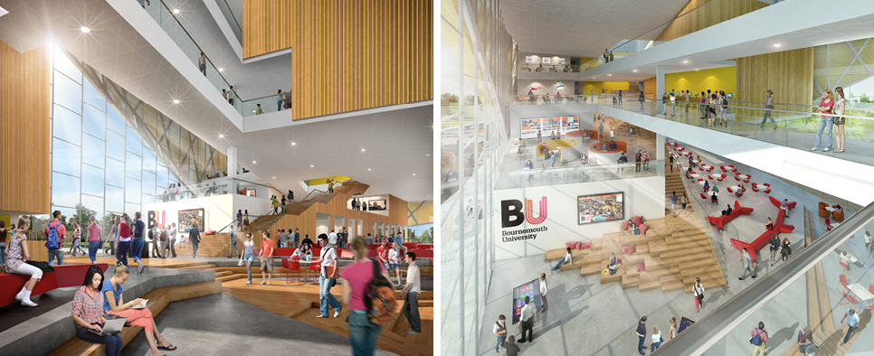 Bournemouth University Poole Gateway Building
