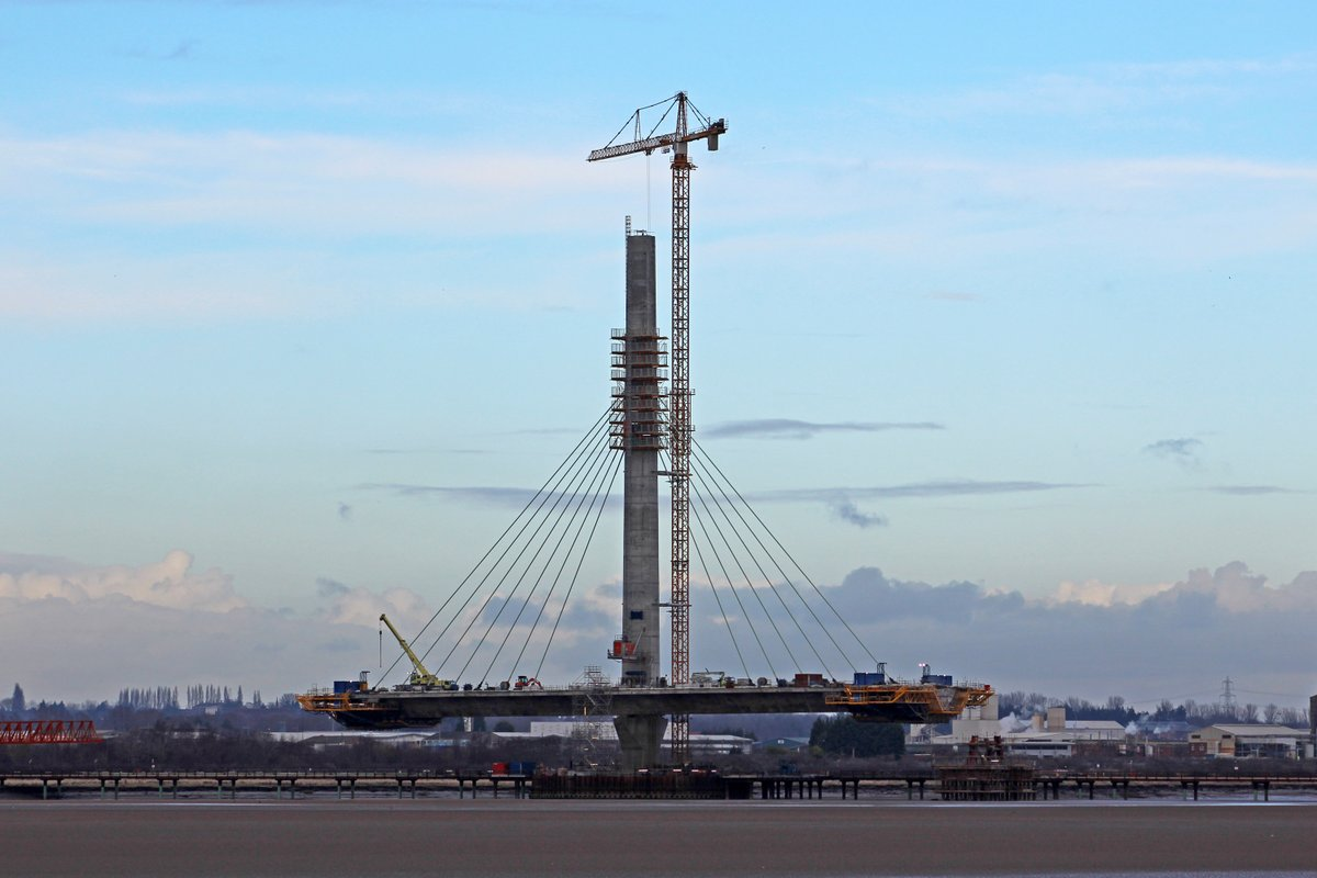 North Pylon mersey gateway