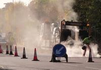Roadworks maintenance highways