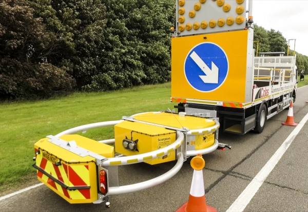 Colas to trial driverless cone laying vehicles on roads