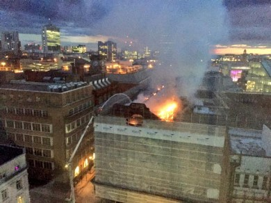 CWS building fire wates