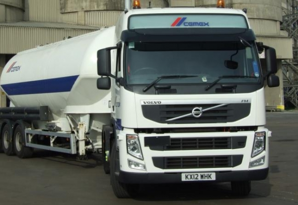 CX cement tanker
