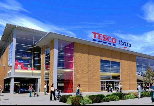 Northern Irish Firm To Build 45m Salford Tesco Store Construction