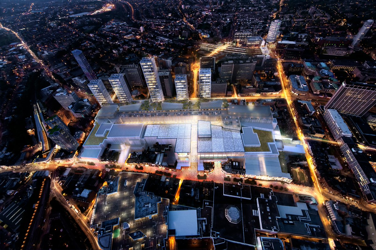 u00a31 4bn croydon westfield shopping centre approved