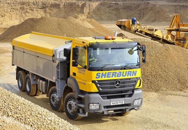 Serburn Delivering aggregates