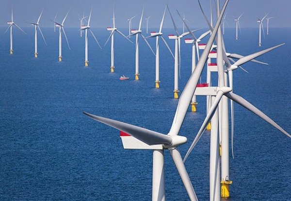 World's biggest offshore windfarm approved as prices drop to record low