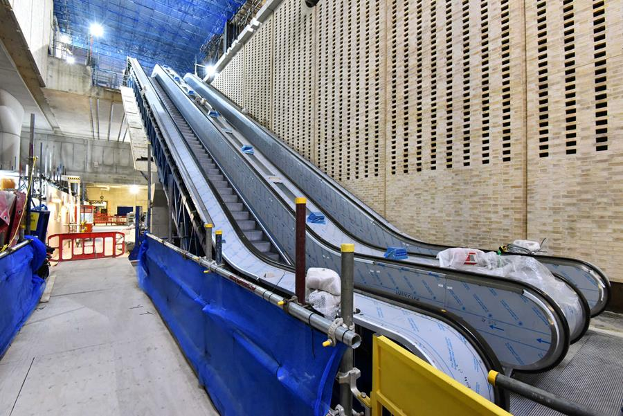 Crossrail construction enters final stages: Picture special |  Construction Enquirer