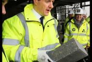 George Osborne visits new Travis Perkins Distribution Centre