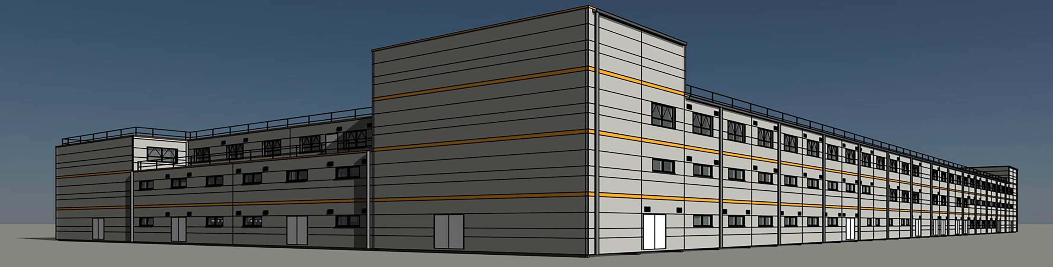 Yorkshire firm bags 1 000 module hinkley site office job for Site office design
