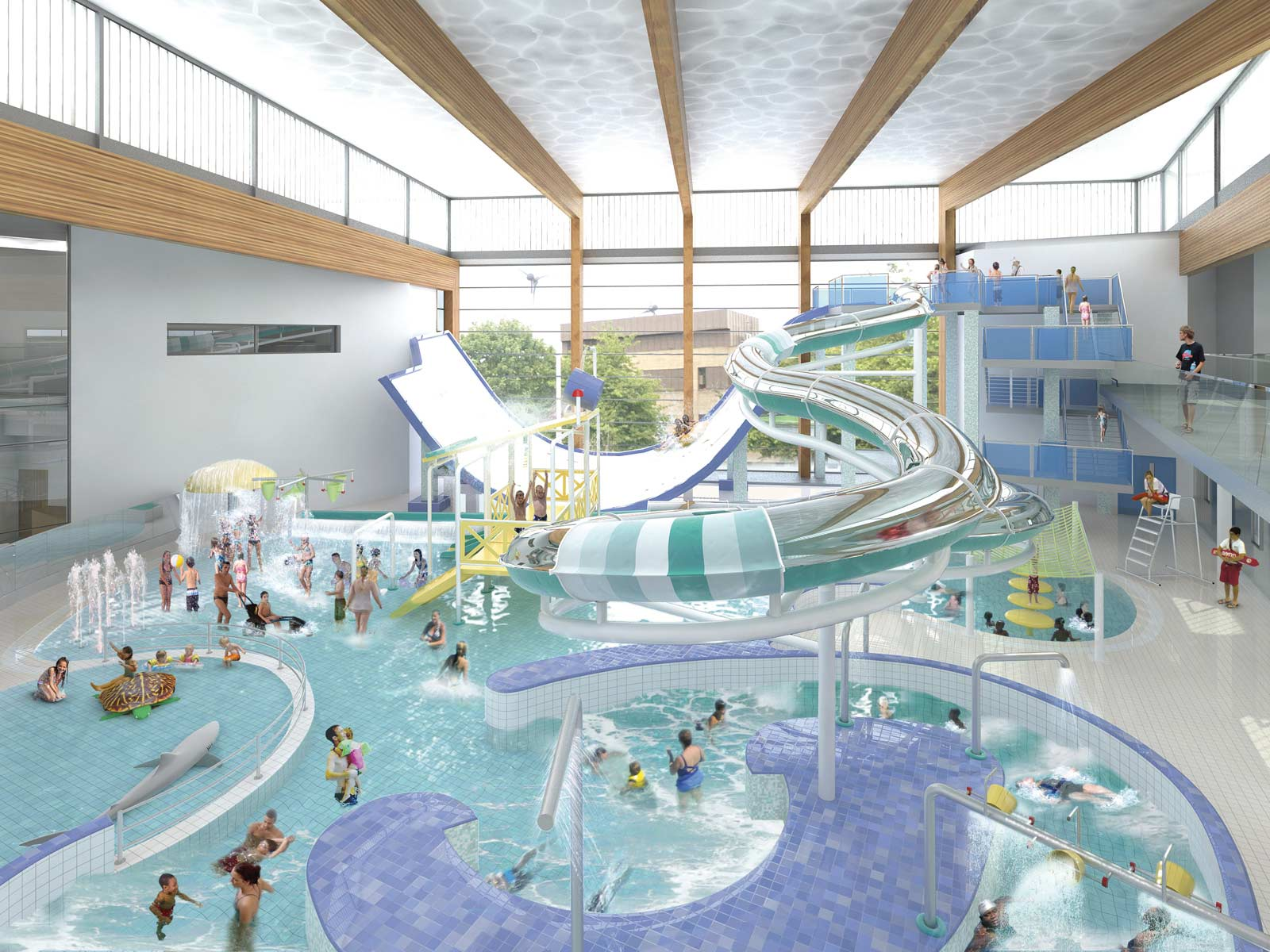 Huddersfield Sports Centre Huddersfield 1053 1 Construction Enquirer