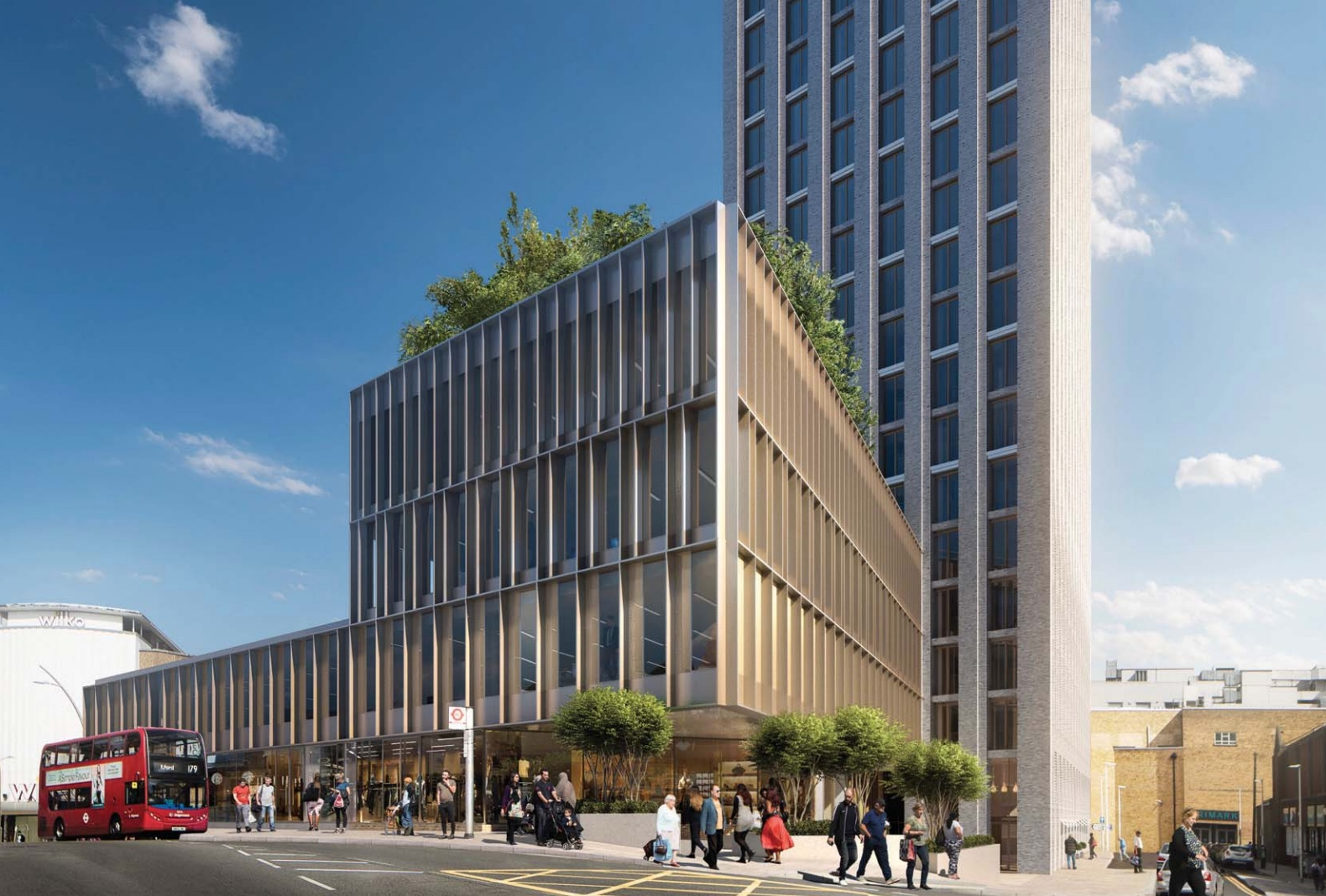 Plans in for 42-storey Ilford residential tower