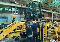 JCB shopfloor factory