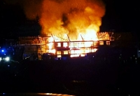 fire timber frame Renfrewshire