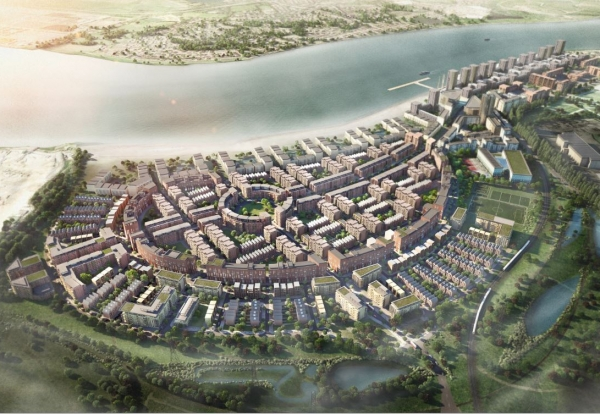 Barking Riverside indicative masterplan, subject to change