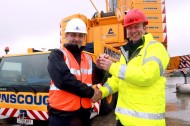Liebherr hands over crane to Ainscough_sml