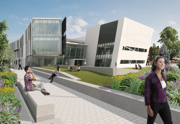 Manchester Cancer Research Centre CGI