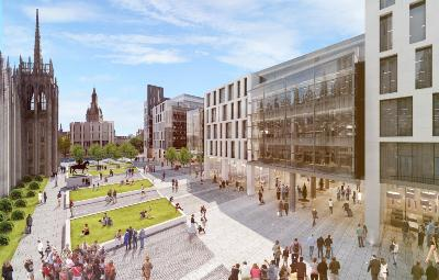 New Year Start For 163 107m Marischal Square Project