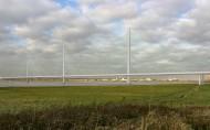 Mersey Gateway main bridge Feb 2012