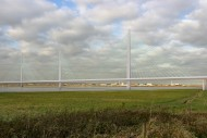 Mersey Gateway main bridge Feb 2012