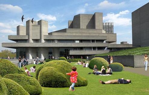 National Theatre Future roof garden | Construction Enquirer