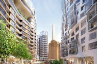 Phase 3 Electric Boulevard and Foster + Parters' Battersea Roof Gardens (L) and Gehry Partners' Prospect Place (R) web