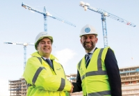 Phil Harrison, Wates Construction (L) and Mark Okaes, Select Property Group (R)