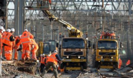 railway electrification work