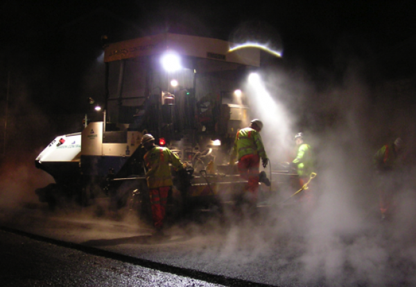 Highways resurfacing