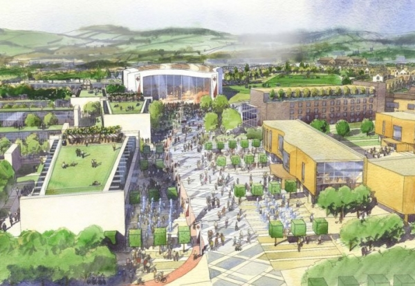 200m Garden Suburb Plan At Plymouth Airport