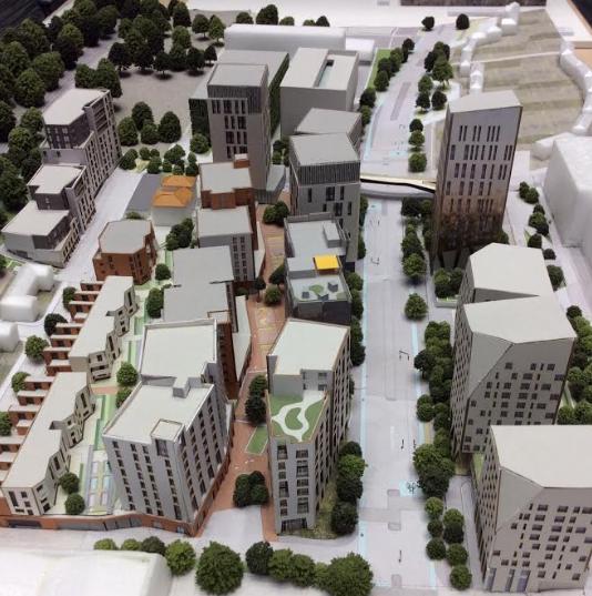 Preston-Barracks-architects-model