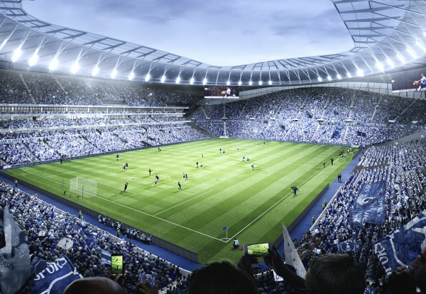 Spurs Unveil Plans for World's First Dividing Retractable Pitch at New Stadium