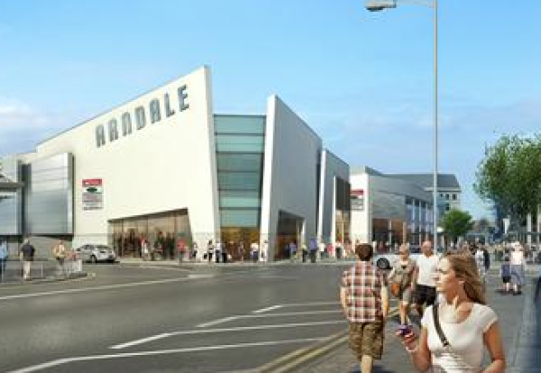 Plans Eastbourne Arndale Revamp Construction