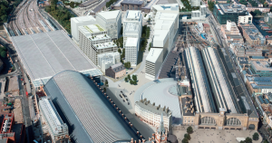 Google HQ masterplan massings