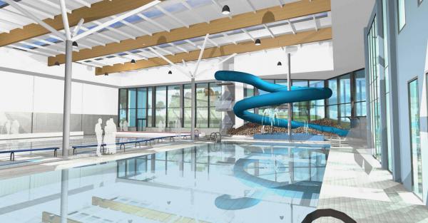 Carillion gets 43m consett academy green light construction enquirer for Durham university swimming pool
