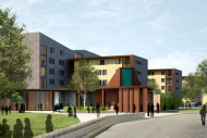University of Bath proposed student halls at the Claverton Campus