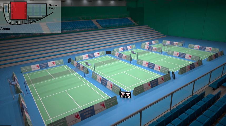 Bid Race Starts For National Badminton Arena Construction Enquirer