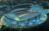 Manchester City football stadium plan