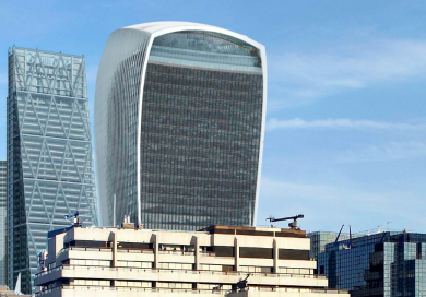 Walkie Talkie sun shade