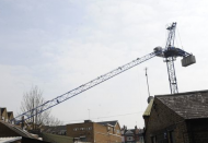 Crane jib collpase Northwood