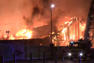 Nottingham University Fire