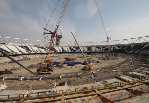 Steel Problems Discovered On Olympic Stadium Roof